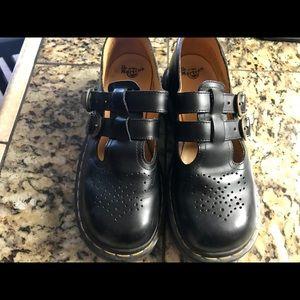 Dr. Martens black Mary Jane shoes 5 8065 original